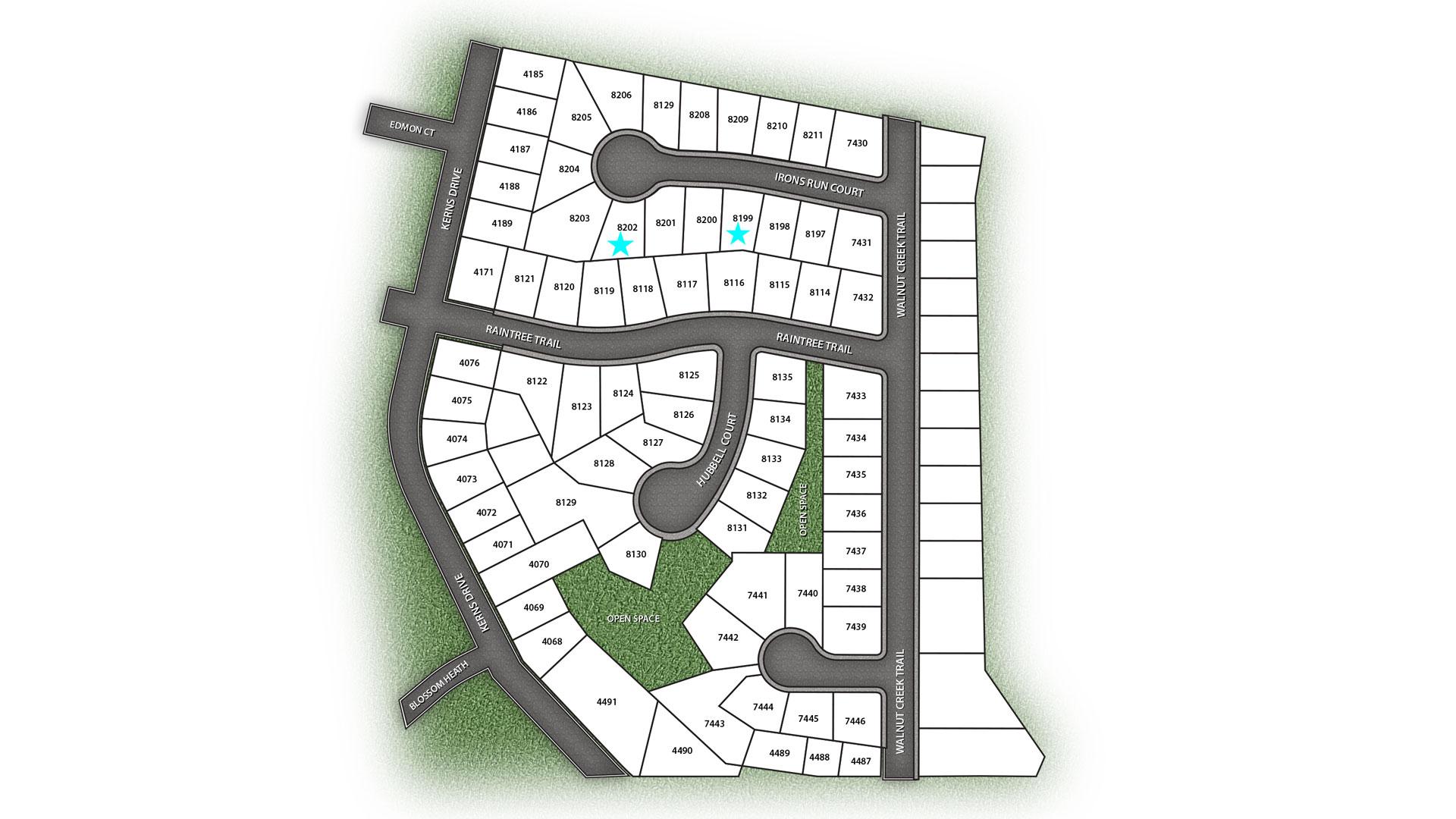 Walnut Creek Site Map