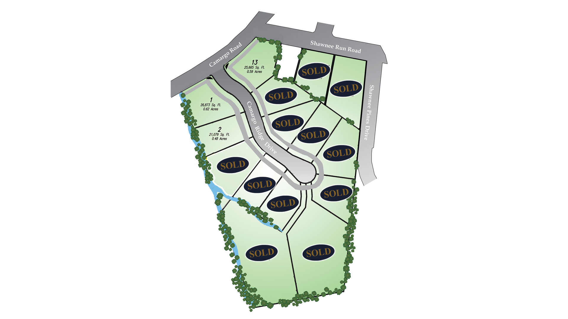 Camargo Ridge Site Plan