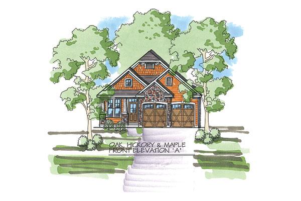 Oak Hickory Maple A