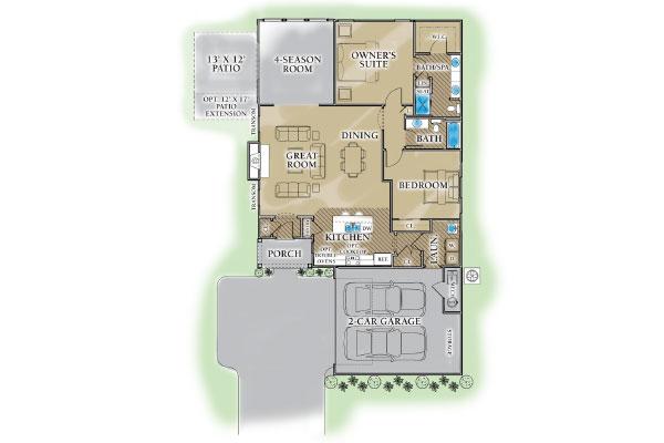 Naples Base Plan