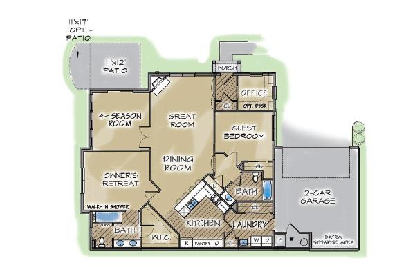 Villa Base Plan