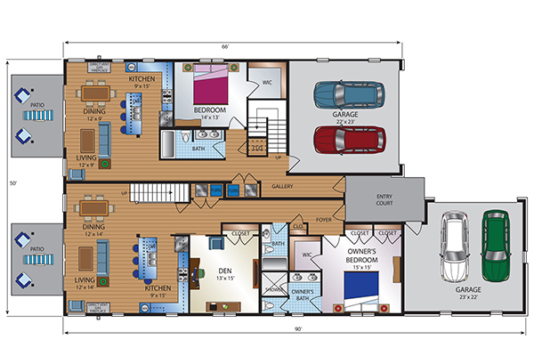 Townhome First Floor