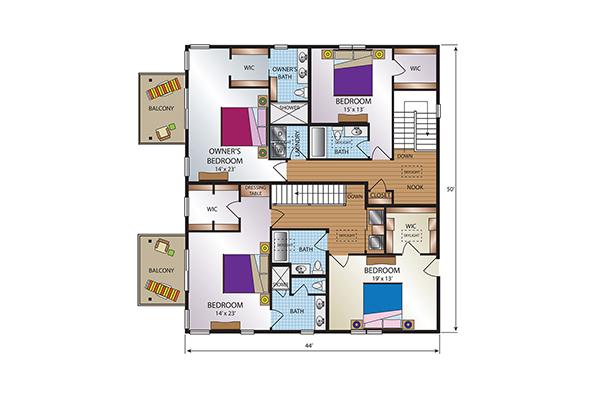 Townhome Second Floor