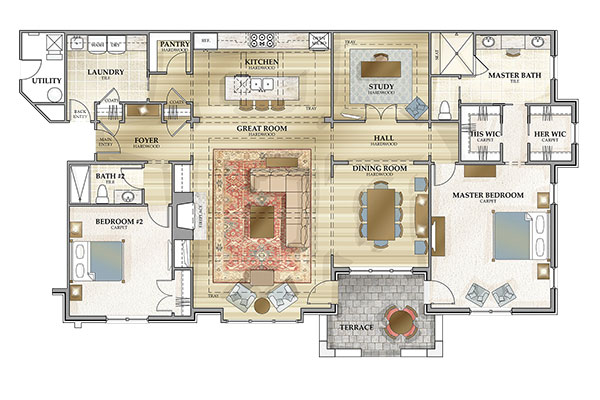 Condominium Floor Plan