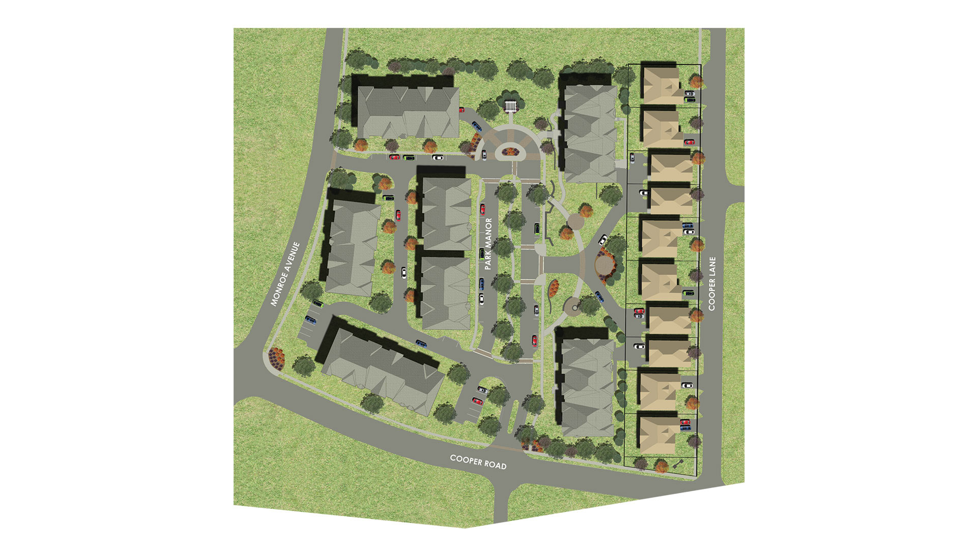 Park Manor Site Map