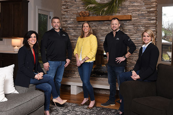 Woodland Vistas Photograph of team members