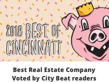 Best Real Estate Company Voted by City Beat readers