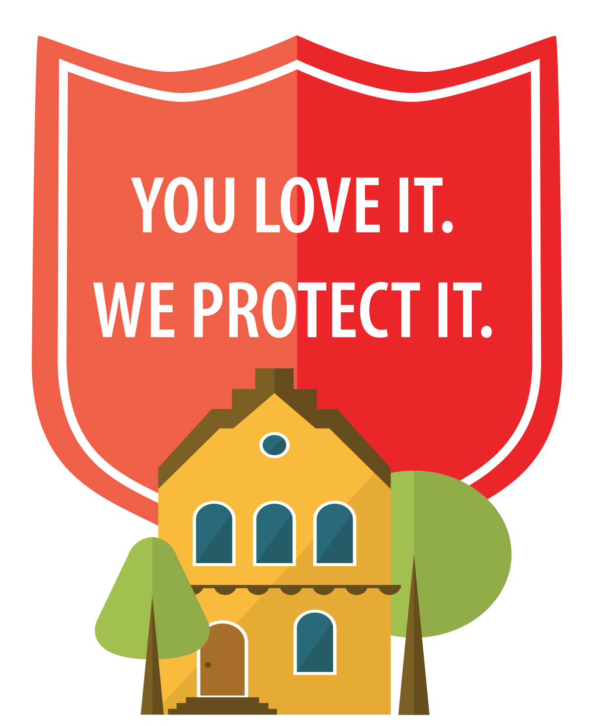 Ad: You Love It! We Protect It! - Sibcy Cline Insurance