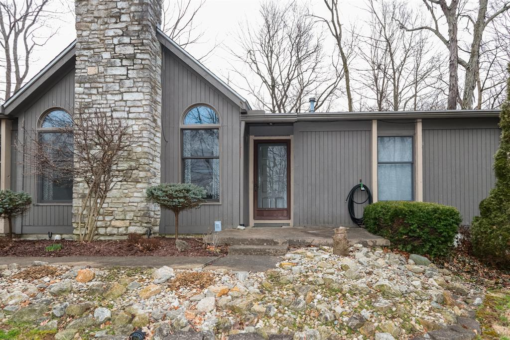 Entrance for 27402 Dog Ridge Rd Kelso Twp, IN 47012