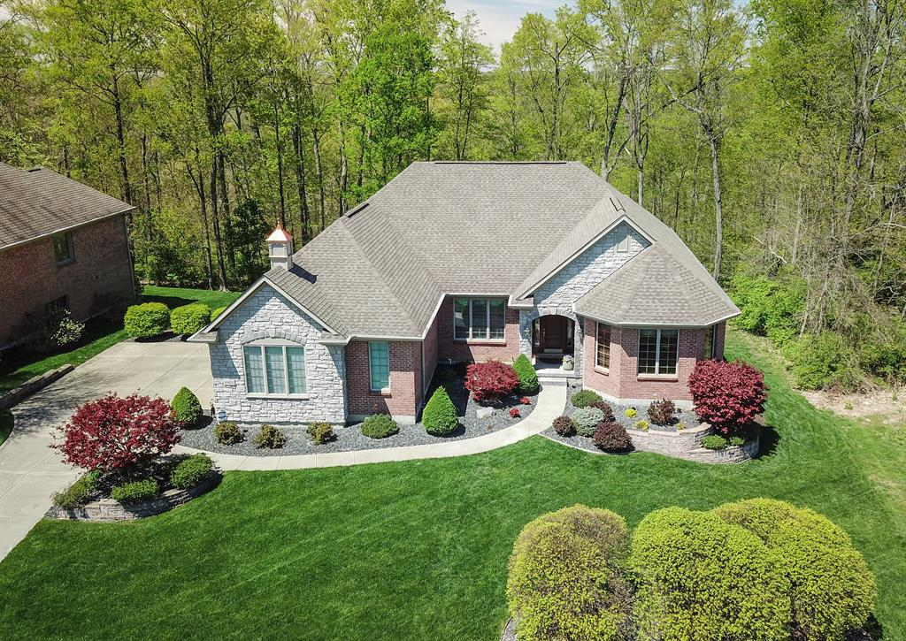 Drone Exterior Main for 9985 Beech Dr Springfield Twp., OH 45231