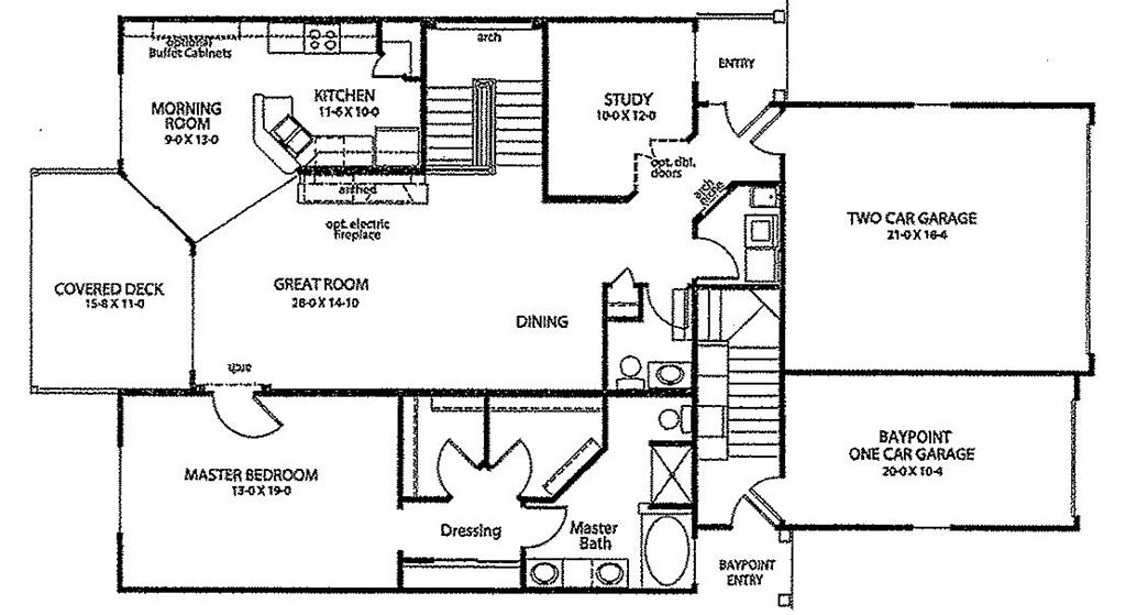 Floor Plan for 2042 Stonewall Trail Florence, KY 41042
