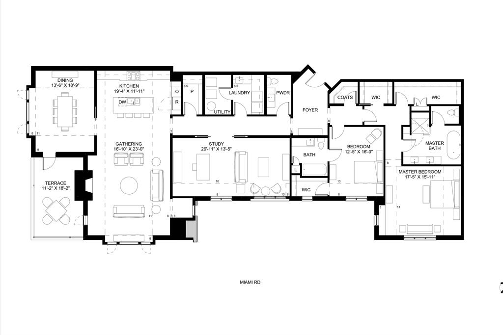 Floor Plan for 3818 Miami Rd, 301 Mariemont, OH 45227