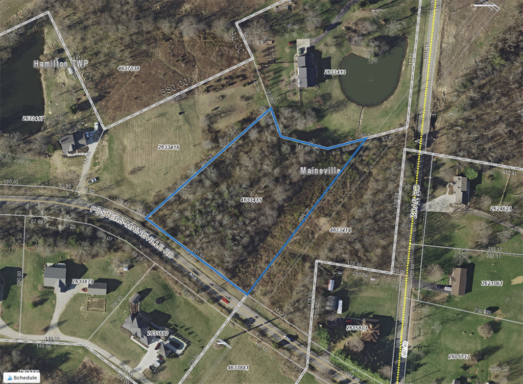 2.19 acres for 149 Lot Foster Maineville Rd Maineville, OH 45140