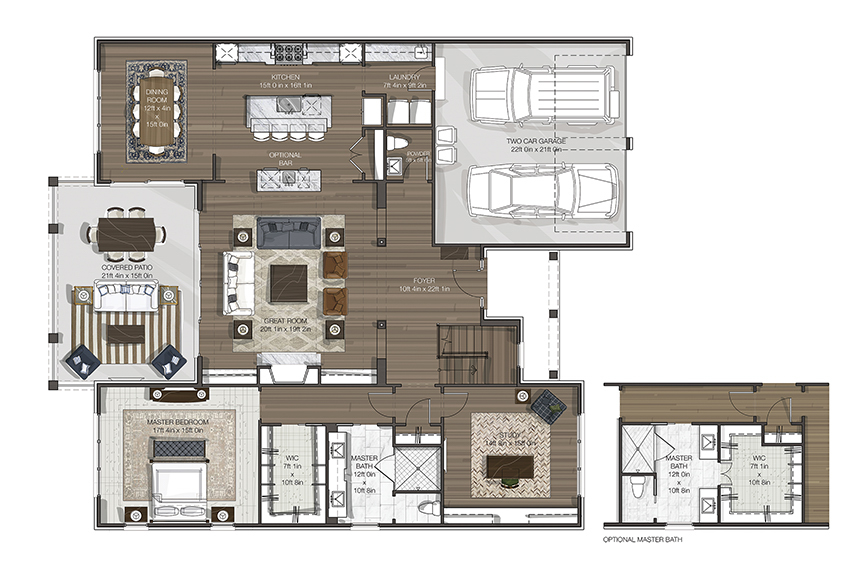 Floor Plan for 9503 Cooper Ln Blue Ash, OH 45242