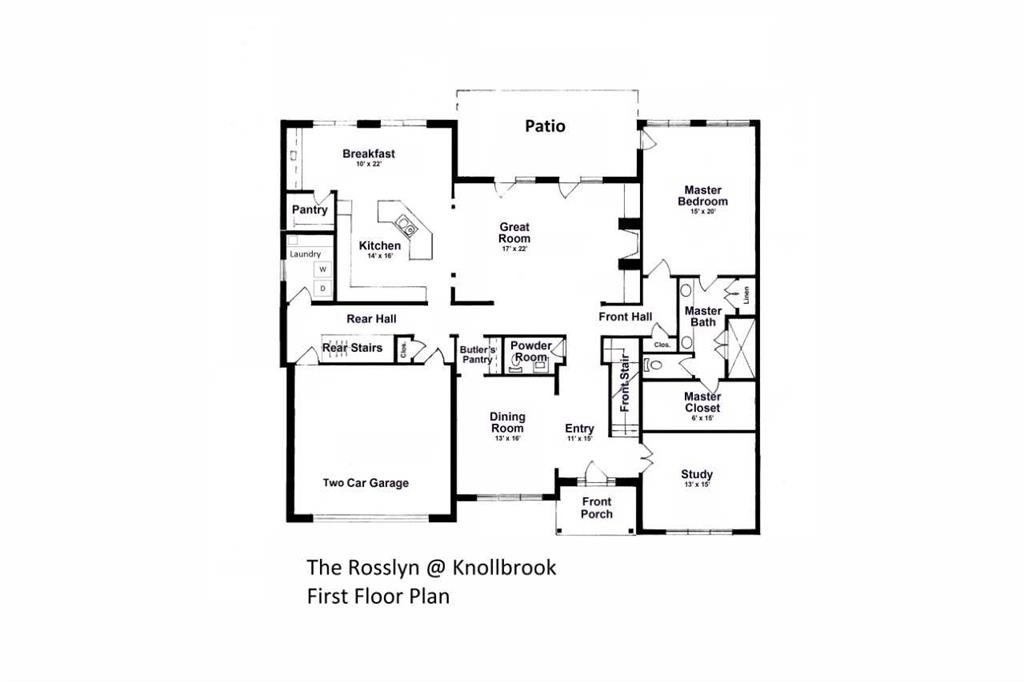Floor Plan for 9831 Knollbrook Ter Montgomery, OH 45242