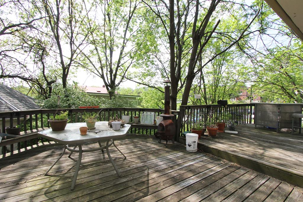Deck for 144 15th St Newport, KY 41071