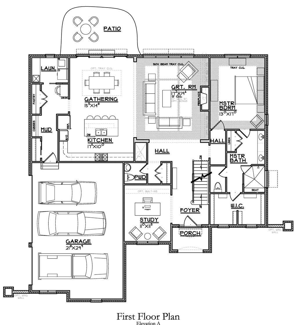 Floor Plan for 4440 Miami Rd Indian Hill, OH 45243