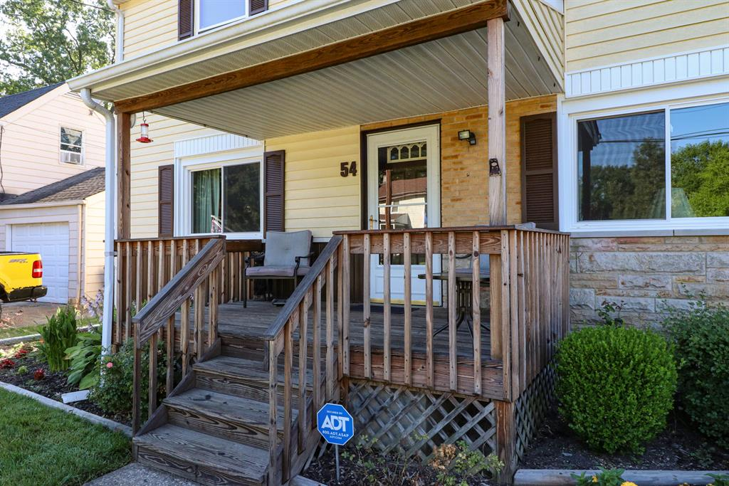 Entrance for 54 Drummond St Greenhills, OH 45218