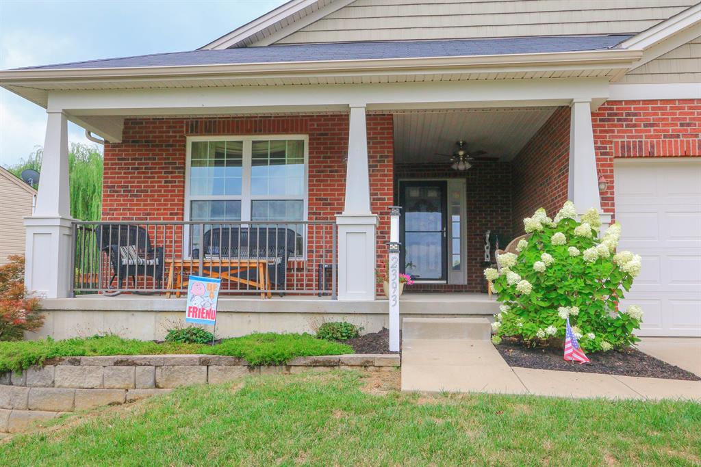 Entrance for 2393 Frontier Dr Hebron, KY 41048