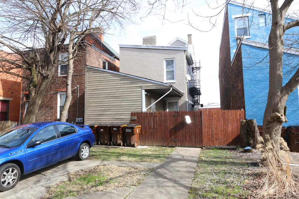 Exterior (Rear) for 1429 Russell St Covington, KY 41011