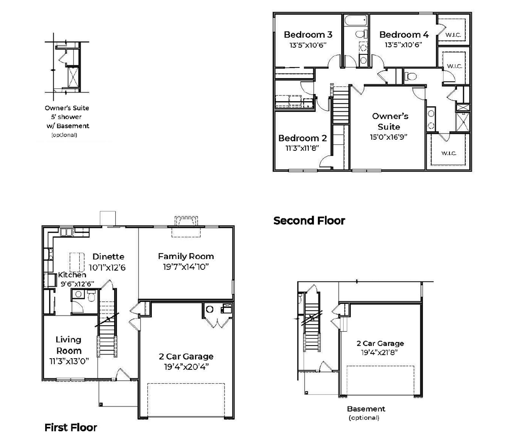 Floor Plan for 367 Irons Run Ct Lebanon, OH 45036