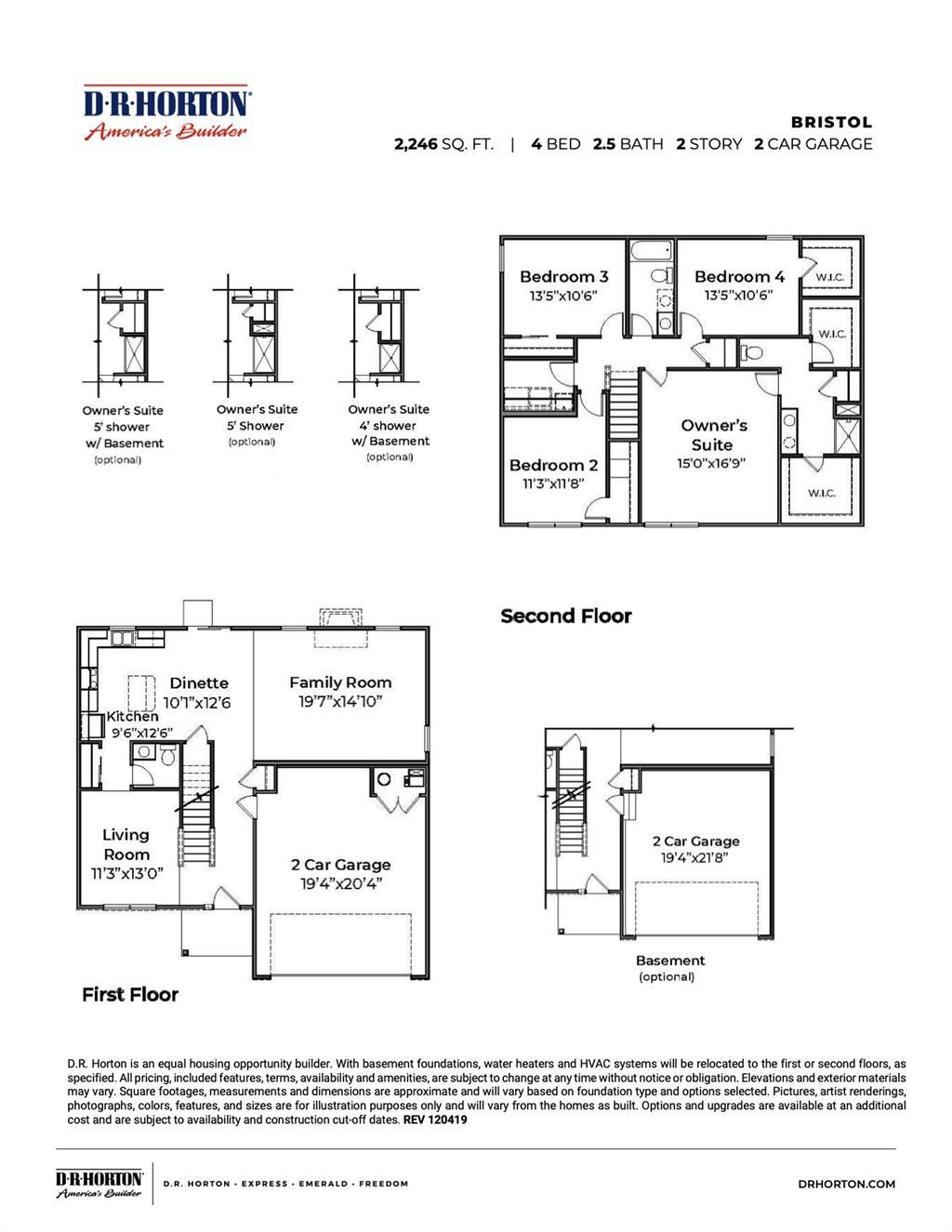Floor Plan 2 for 367 Irons Run Ct Lebanon, OH 45036