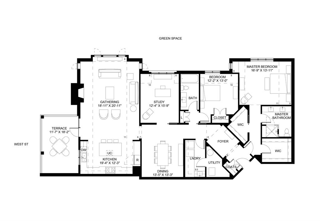 Floor Plan for 3818 Miami Rd, 302 Mariemont, OH 45227