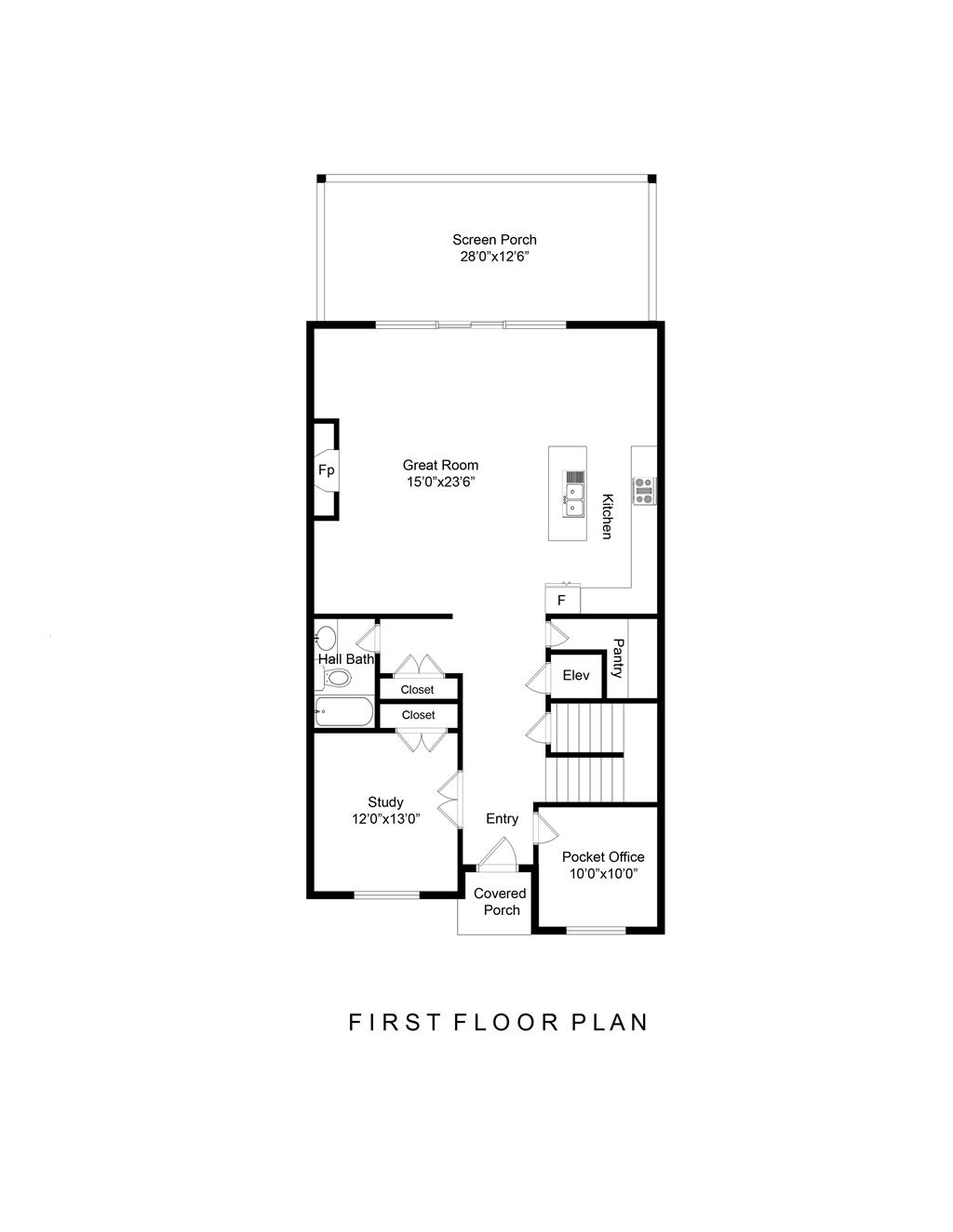 First Floor for 2915 Walworth Ave East End, OH 45226