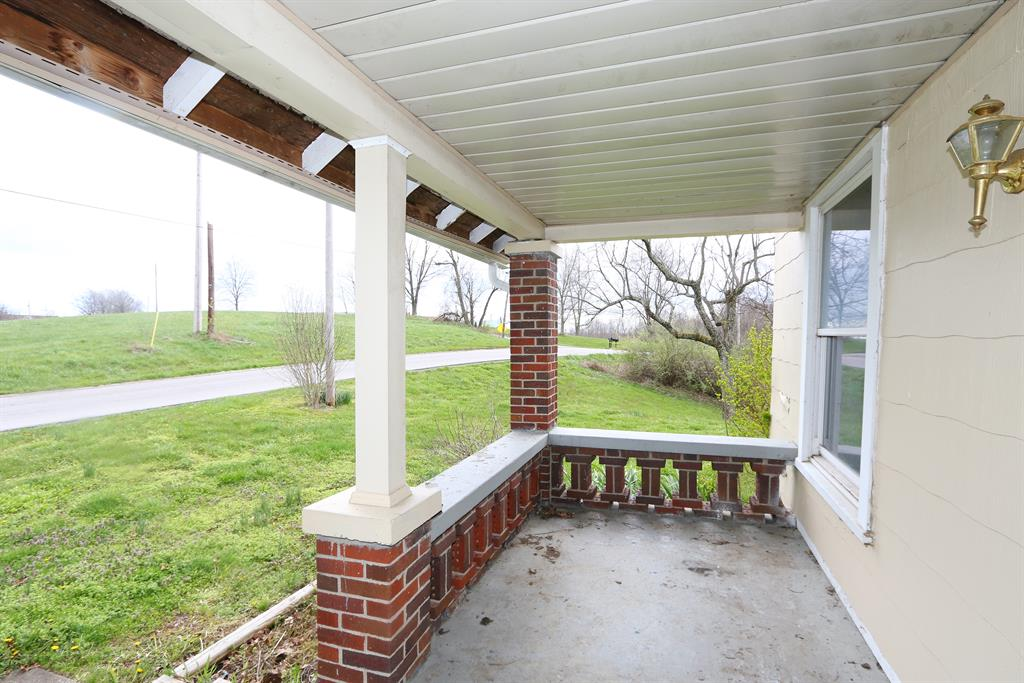 Porch for 6233 Lenoxburg Rd Falmouth, KY 41040