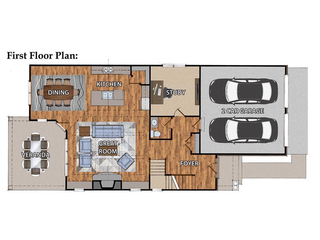 Floor Plan for 6784 Dawson Rd Madeira, OH 45243