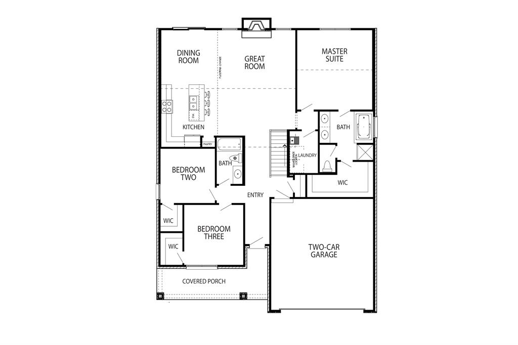 Floor Plan for 14 Daniels Wlk Sayler Park, OH 45233
