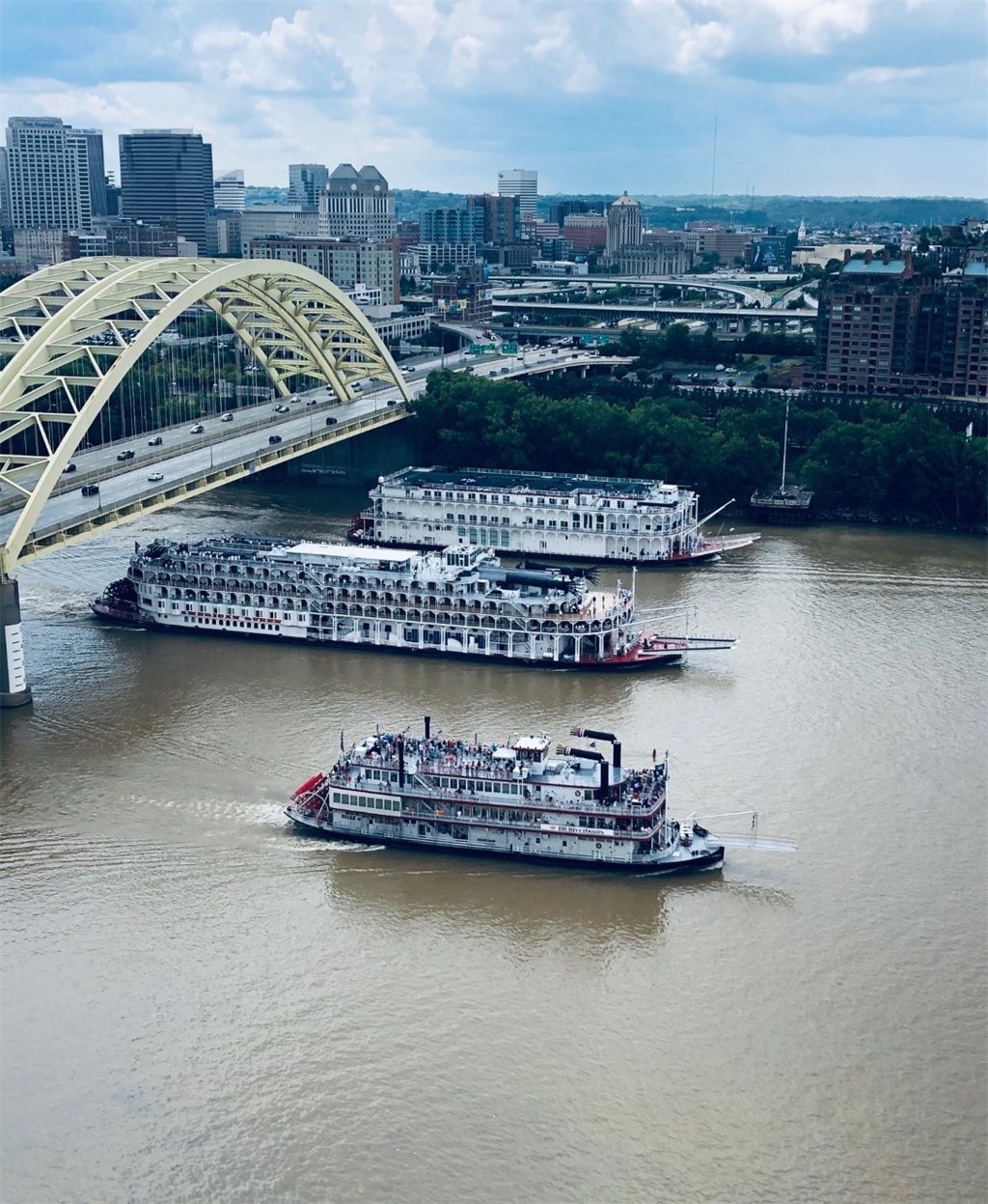 Unit Terrace View 2 for 400 Riverboat Row, 2100 Newport, KY 41071