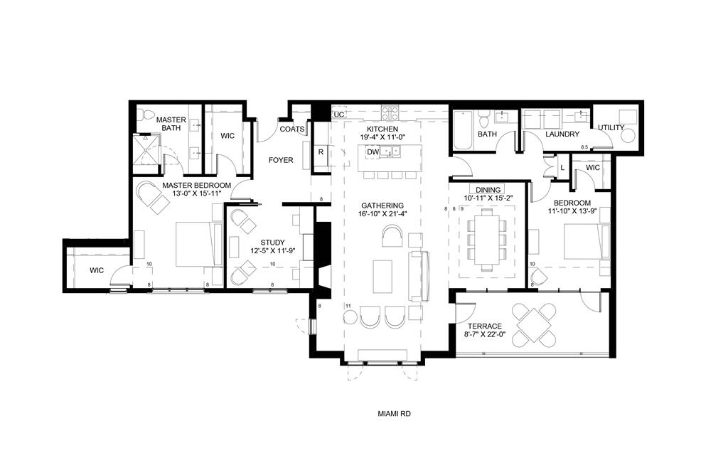 Floor Plan for 3818 Miami Rd, 303 Mariemont, OH 45227