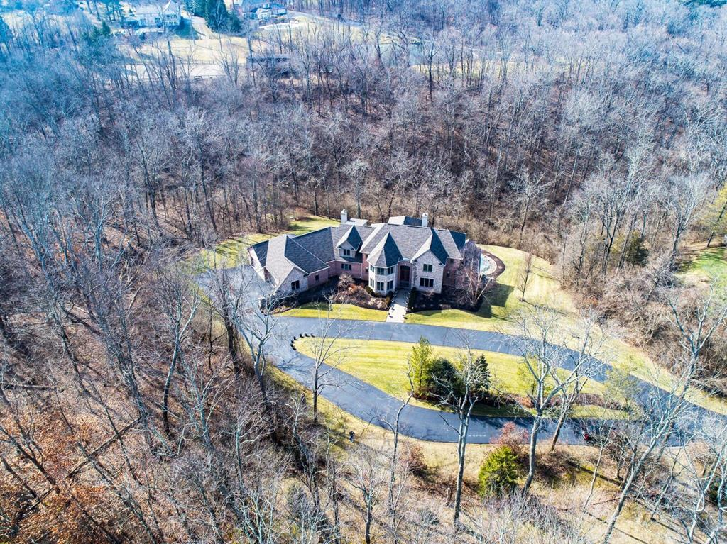 Aerial Photo for 8327 Old Hickory Dr Indian Hill, OH 45243