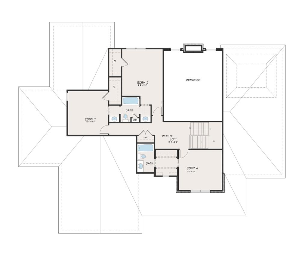 Floor Plan 2 for 1 Camargo Ridge Madeira, OH 45243