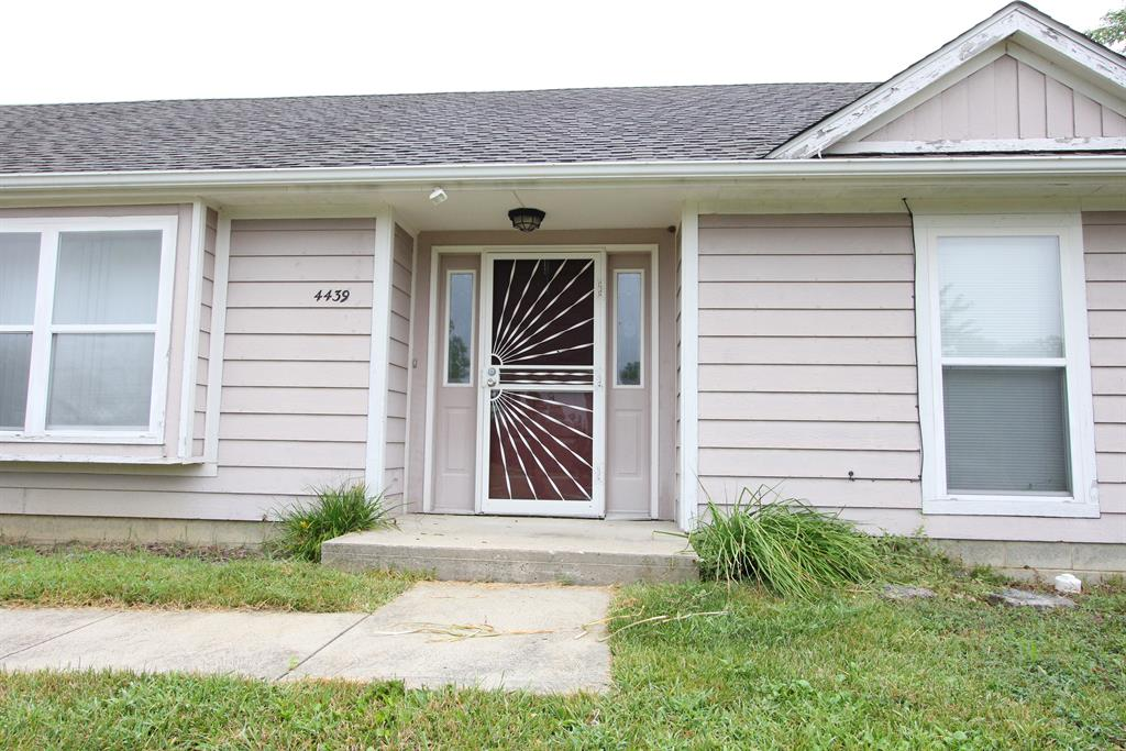 Entrance for 4439 TALCOTT Trl Trotwood, OH 45426