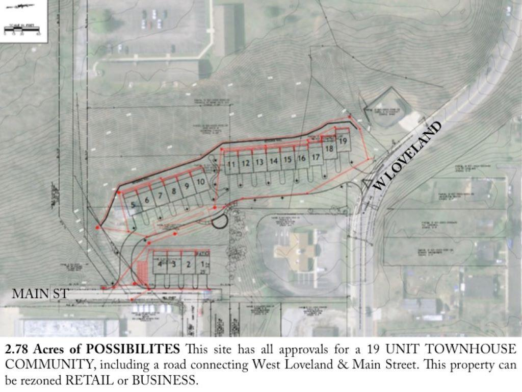 Outline for 702 Main St Loveland, OH 45140