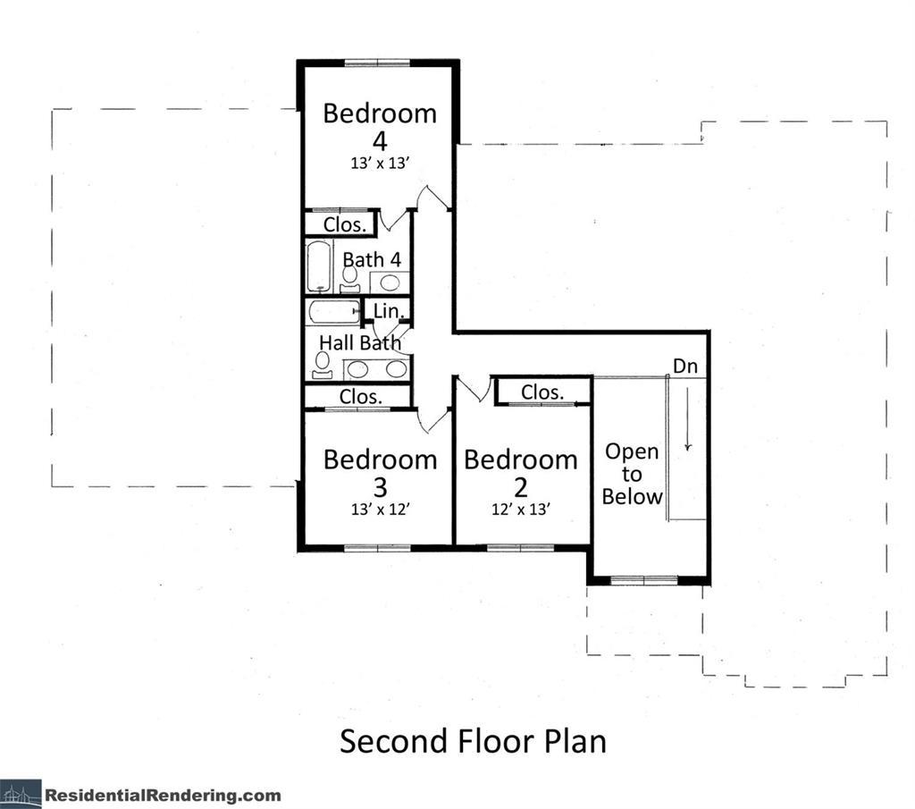 Floor Plan 2 for 6388 Ellie Marie Ln #1 Anderson Twp., OH 45244