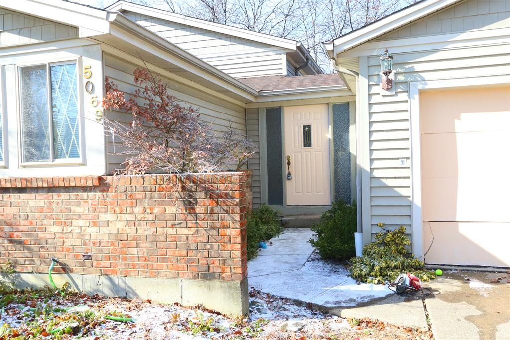 Entrance for 5069 Francisvalley Ct Delhi Twp., OH 45238