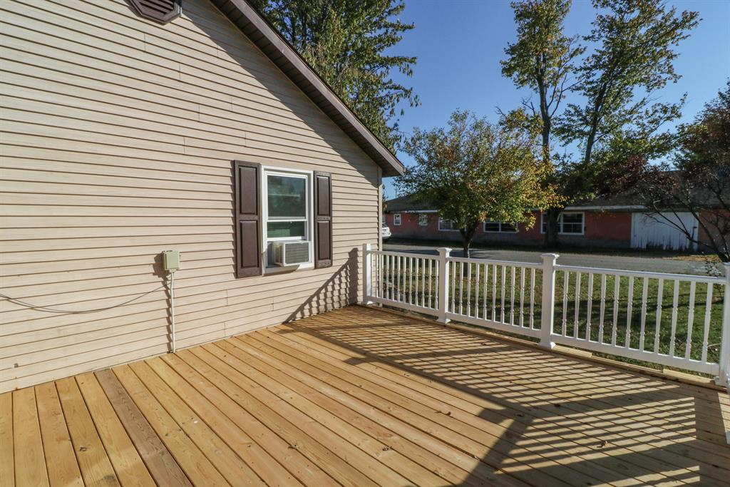 Deck for 545 Glasgow St Osgood, IN 47037