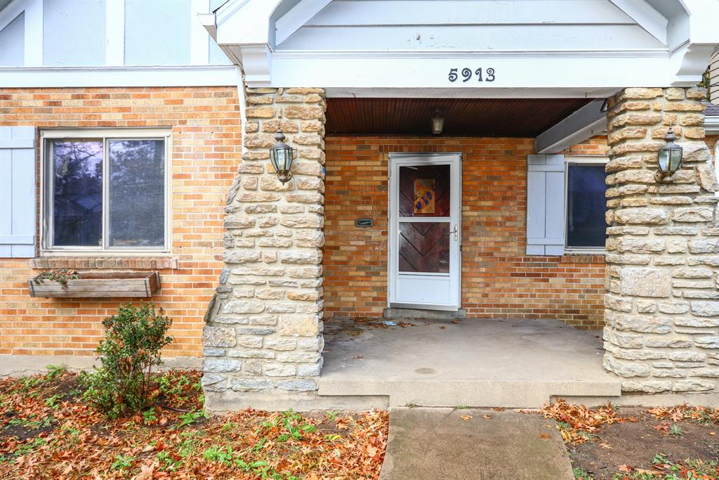 Entrance for 5913 Kimberly Ave Pleasant Ridge, OH 45213