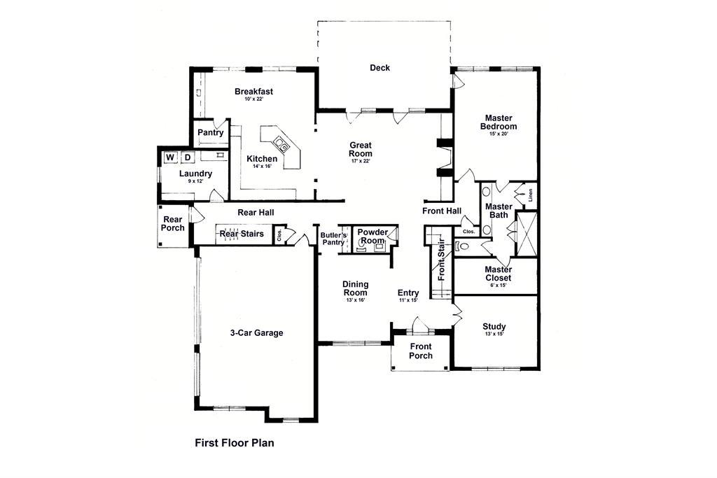 Floor Plan for 96 Meadowview Ln Kings Mills, OH 45065