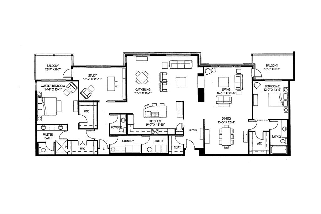 Floor Plan for 6901 Murray Ave, 205 Mariemont, OH 45227