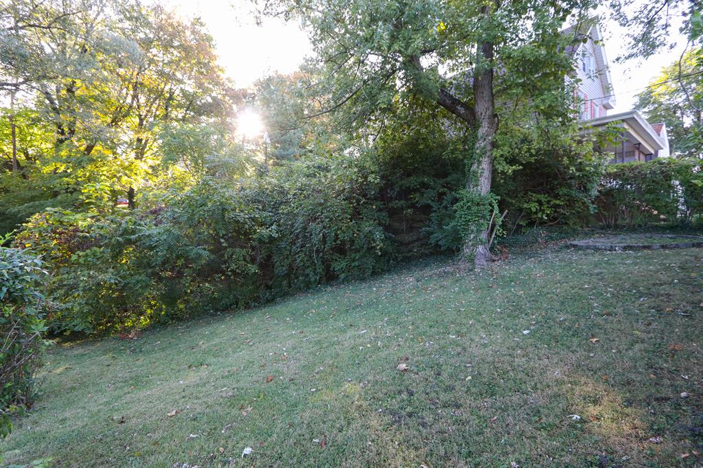 Yard for 6376 Savannah Ave College Hill, OH 45224