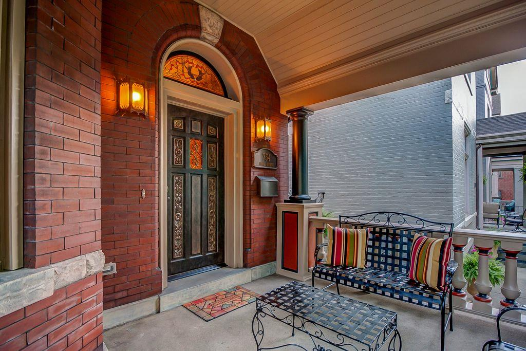 Entrance for 734 Park Ave Newport, KY 41071