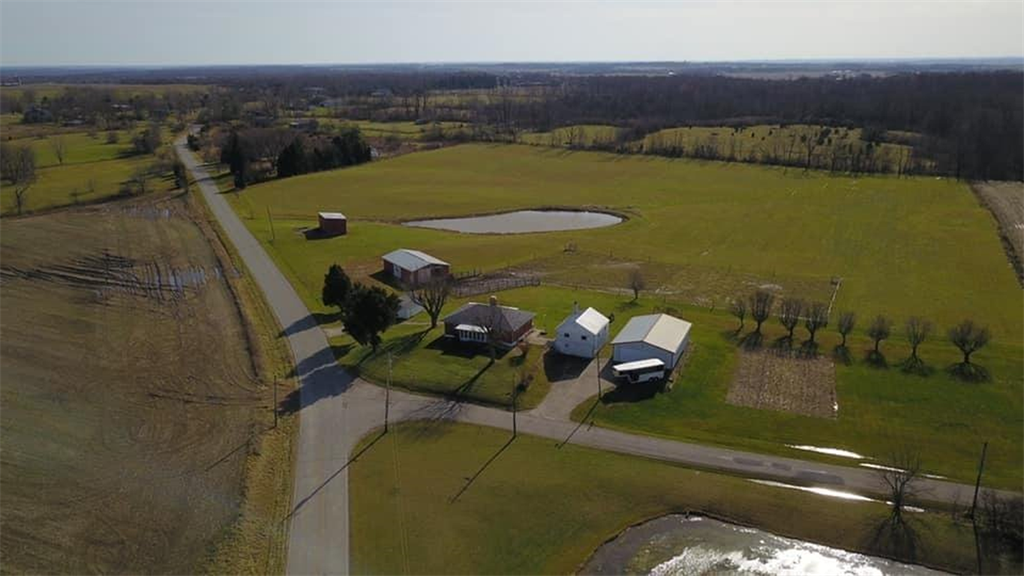 Aerial Photo for 10055 Quaker Trace Rd Camden, OH 45311