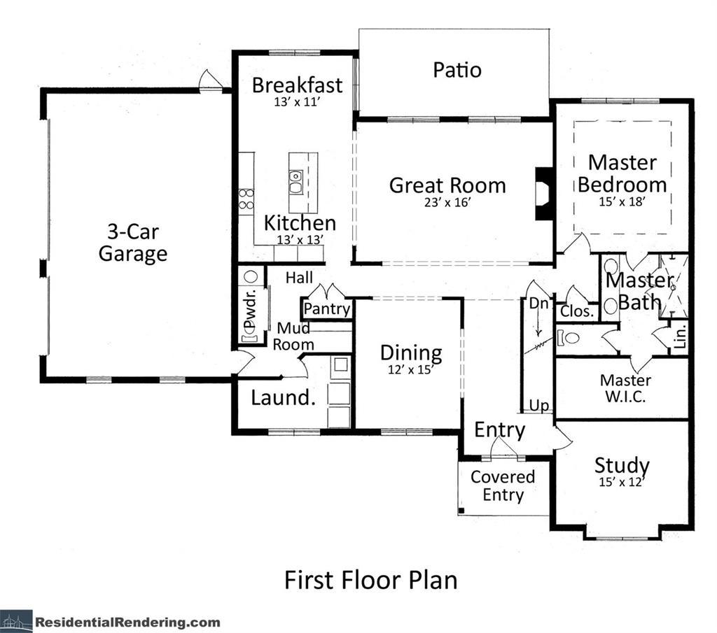 Floor Plan for 6388 Ellie Marie Ln #1 Anderson Twp., OH 45244