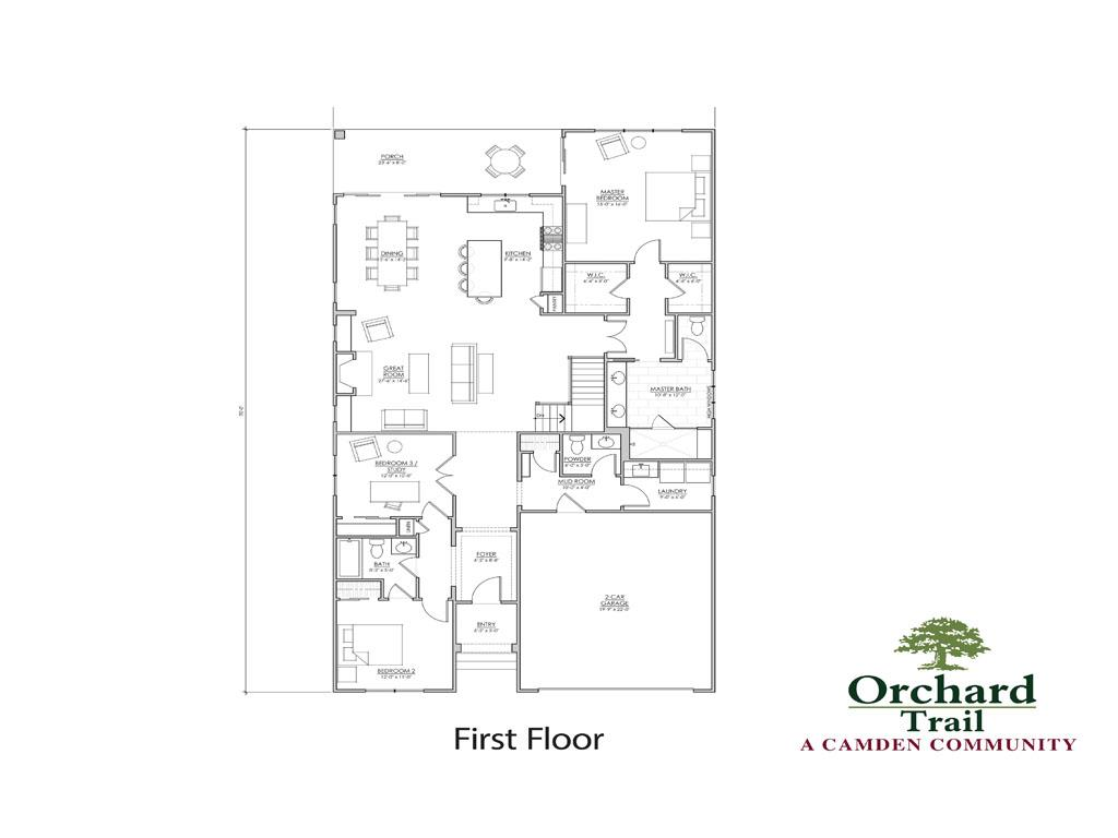 Floor Plan for 4 Orchard Trail Dr Montgomery, OH 45242