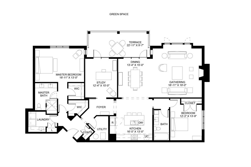 Floor Plan for 3818 Miami Rd, 206 Mariemont, OH 45227