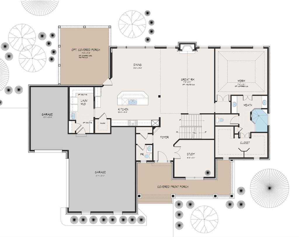 Floor Plan for 1 Camargo Ridge Madeira, OH 45243